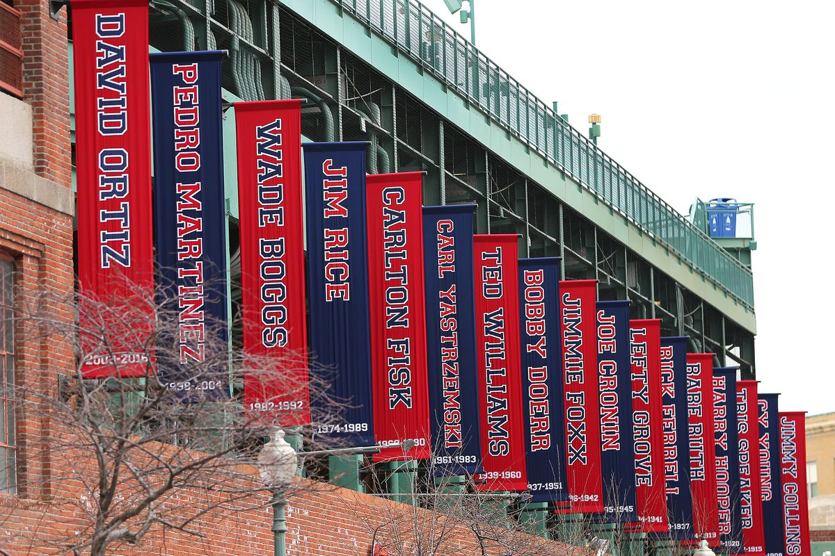 Preparations For Opening Day At Fenway Park