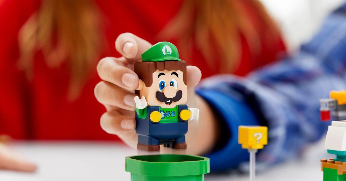 Luigi joins Lego's interactive Mario sets