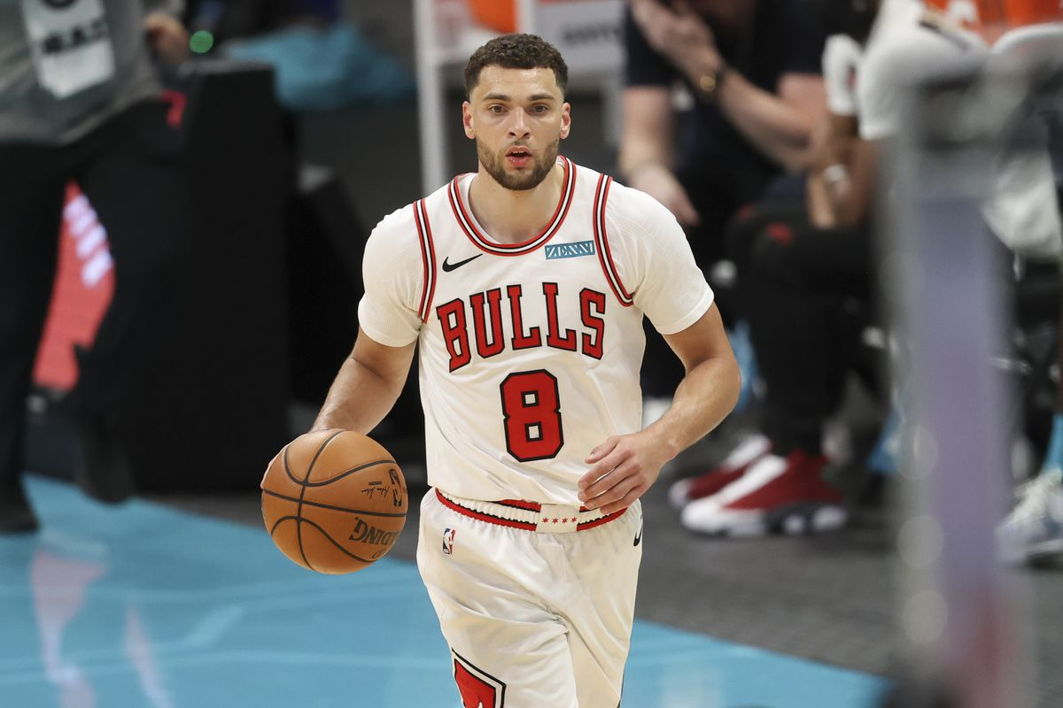 """""""I definitely want what I deserve, and whatever that is I'll have it coming to me,'' the Bulls' Zach LaVine said."""