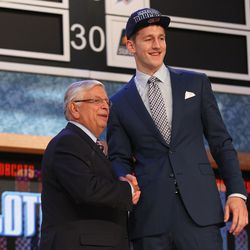 Cody Zeller became the final draft pick made by the Charlotte Bobcats before the Hornets name returned after the 2013-14 NBA season. The big man went fourth overall.
