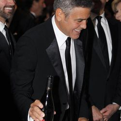 George Clooney attends the White House Correspondents' Association Dinner headlined by late-night comic Jimmy Kimmel, Saturday, April 28, 2012 in Washington.