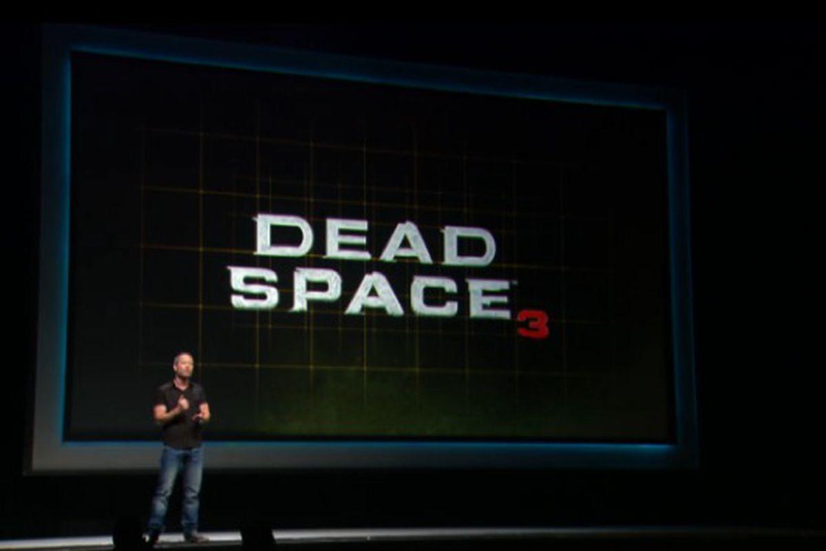 Dead Space 3 Gamescom 2012
