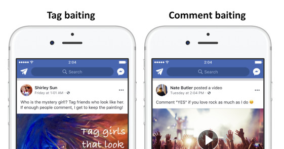 Facebook will soon demote posts that beg for likes, comments, and shares