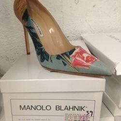 Manolo Blahnik heels, $275