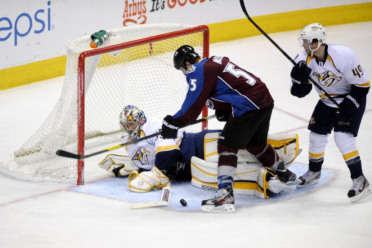 Think how good the Preds would have been if Rinne had just a little help.