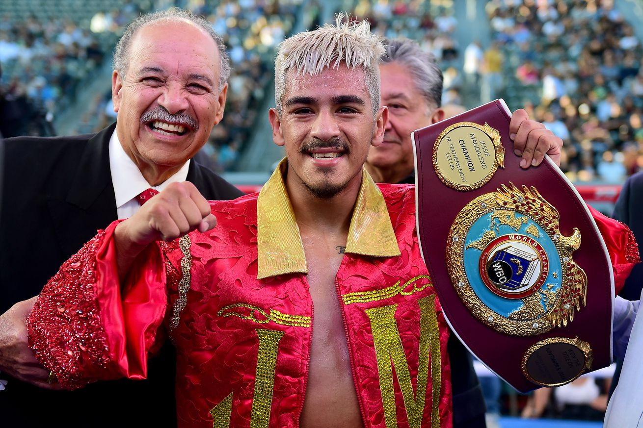 671658000.0 - Magdaleno likely to face Rivera on Aug. 10
