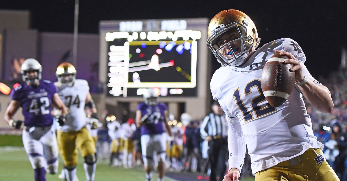 Highlights And Post Game From Notre Dame's 31-21 Win Over ...