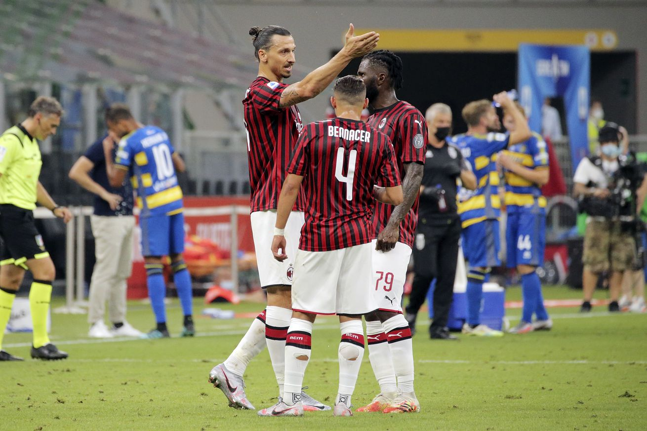 Rossoneri Round Up for Jul 29: Bennacer and Hernandez Return To AC Milan's Starting XI For Sampdoria Fixture
