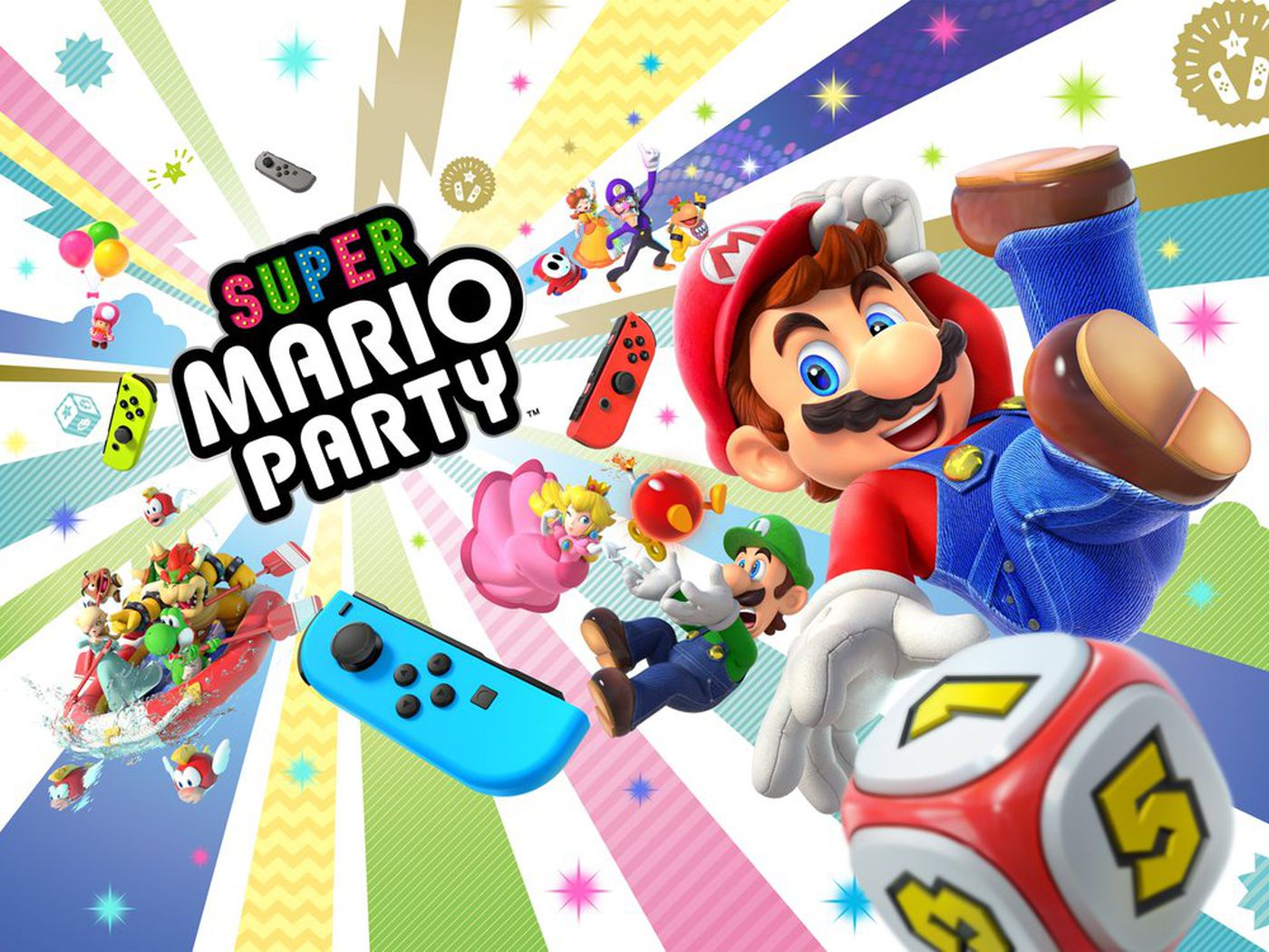 Super Mario Party might be the most creative Switch game yet
