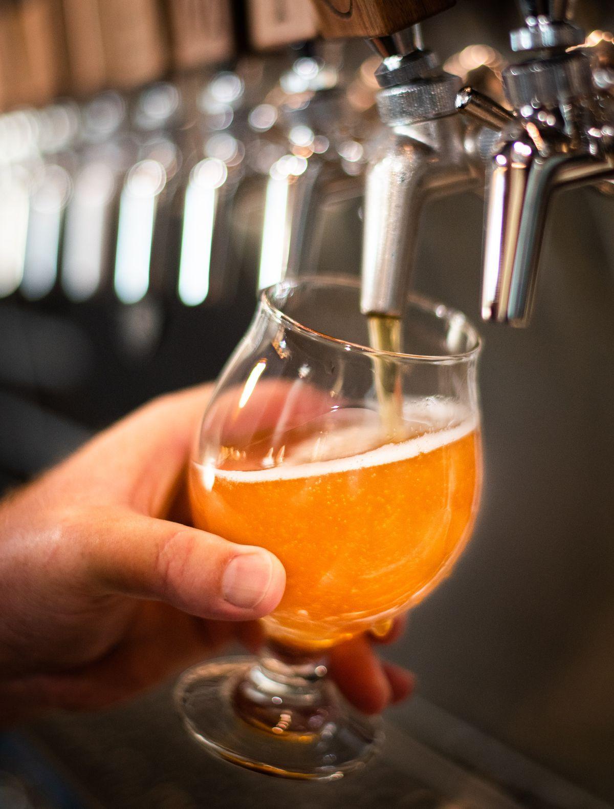 A beer from BLVD MRKT's Alchemy Craft in Montebello, California