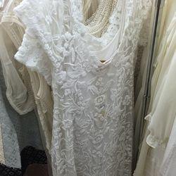 Off white Urelie dress, $50
