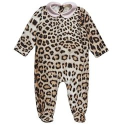 """We all know it's only a matter of time before baby starts donning animal print. $90, <a href=""""http://www.robertocavalli.com/"""">Cavalli</a>"""