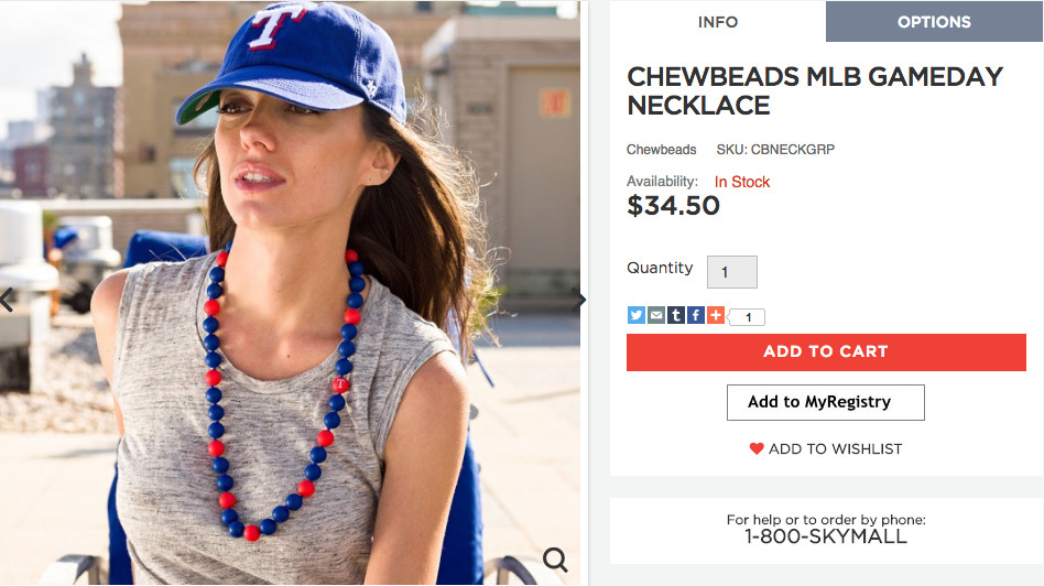 chewbeads necklace