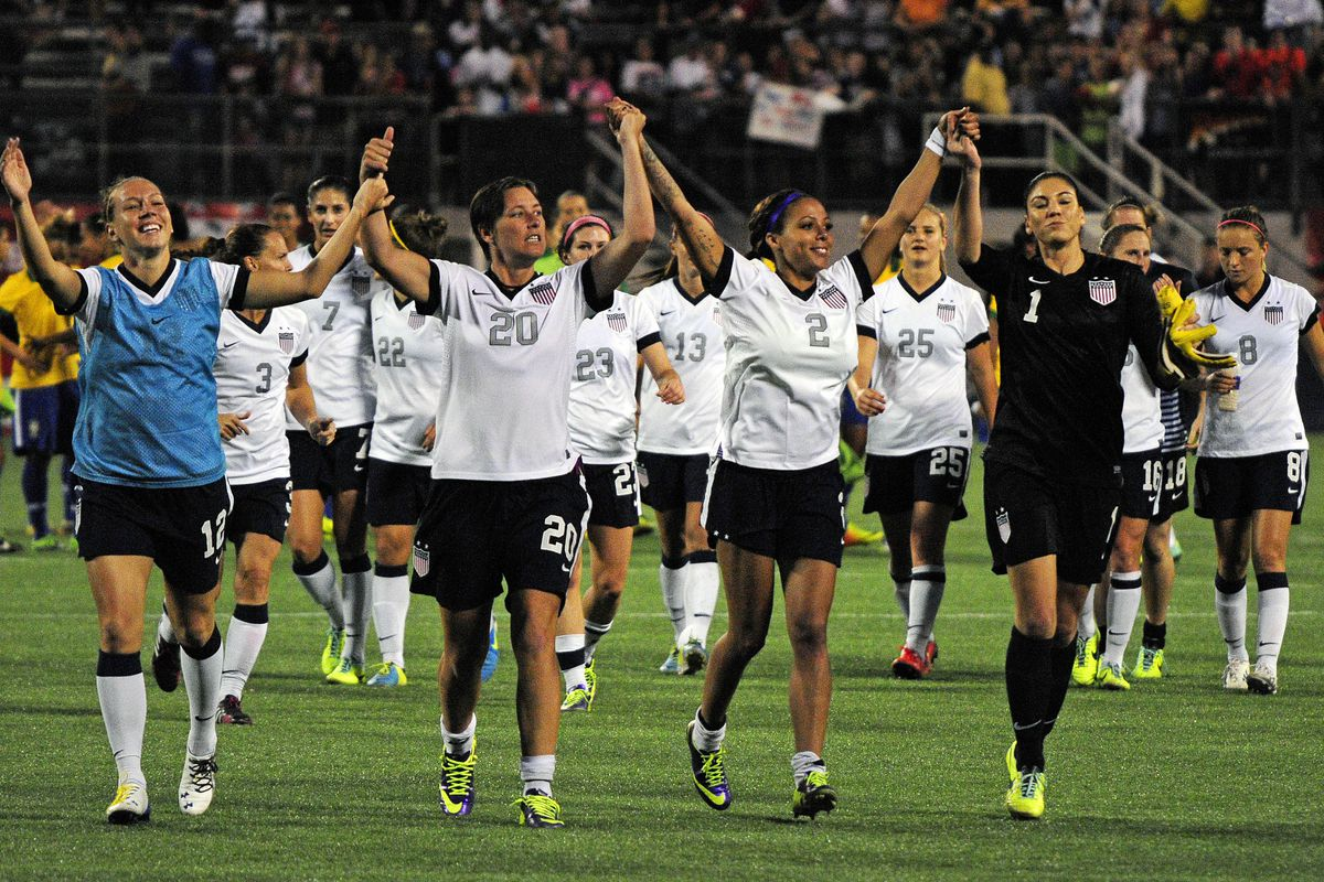 The U.S. Women's National Team are set to start their World Cup tournament today. We decided some shots were in order.