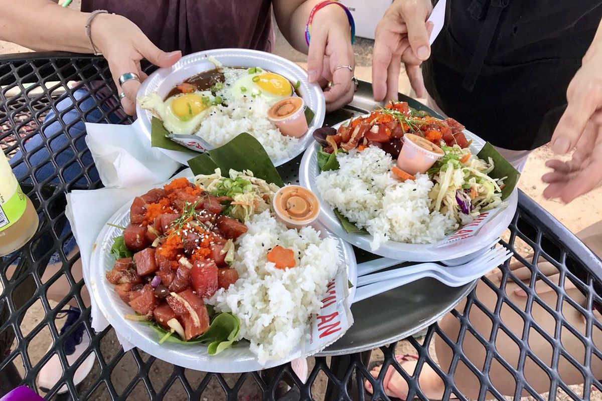 Poke And Loco Moco From Kahuna Rob B Yelp