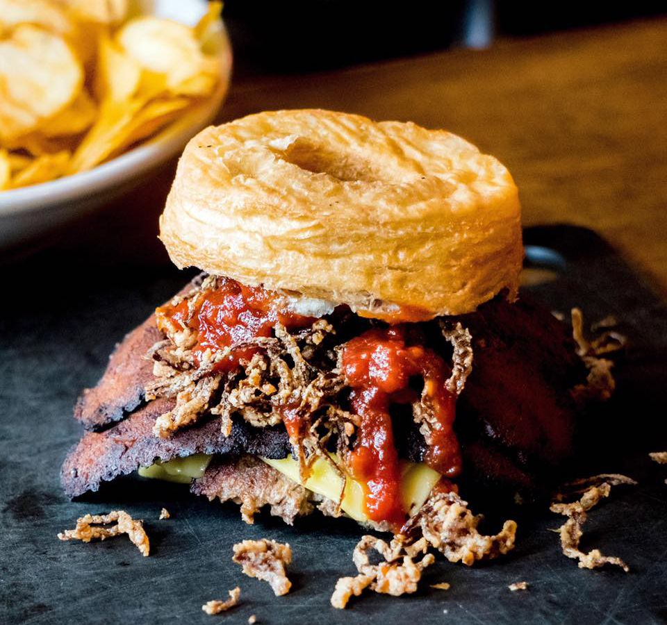 Tony's Darts Away's Impossible Burger