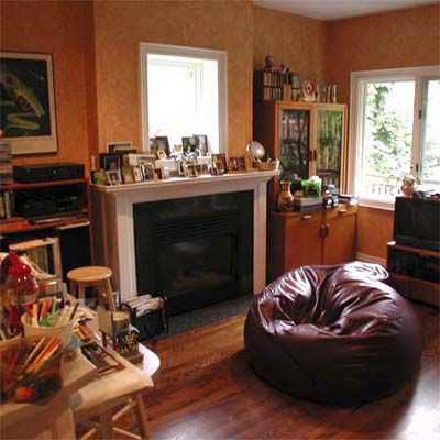 Before Home Staging: Unused Area