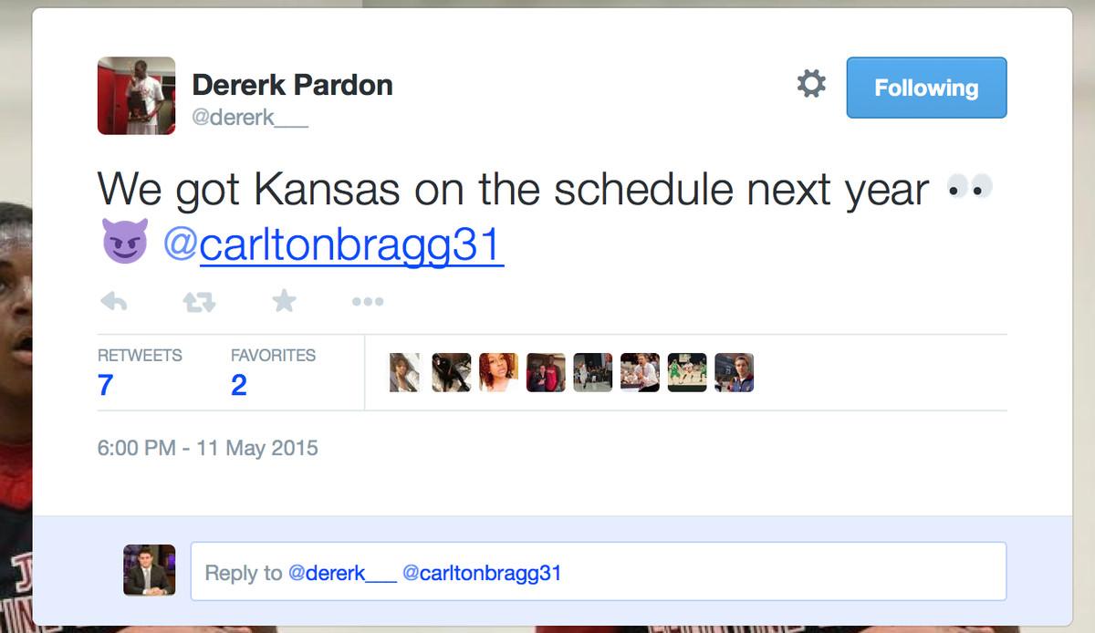 pardon tweet