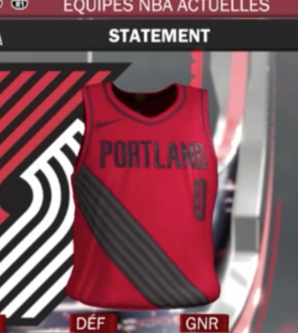 New NBA Jerseys for Trail Blazers Allegedly Leaked via