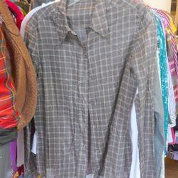 Prada blouse, $50