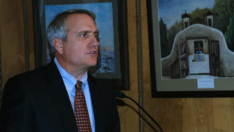 Colorado Gov. Bill Ritter discusses his proposed 2010-11 budget on Nov. 6, 2009.