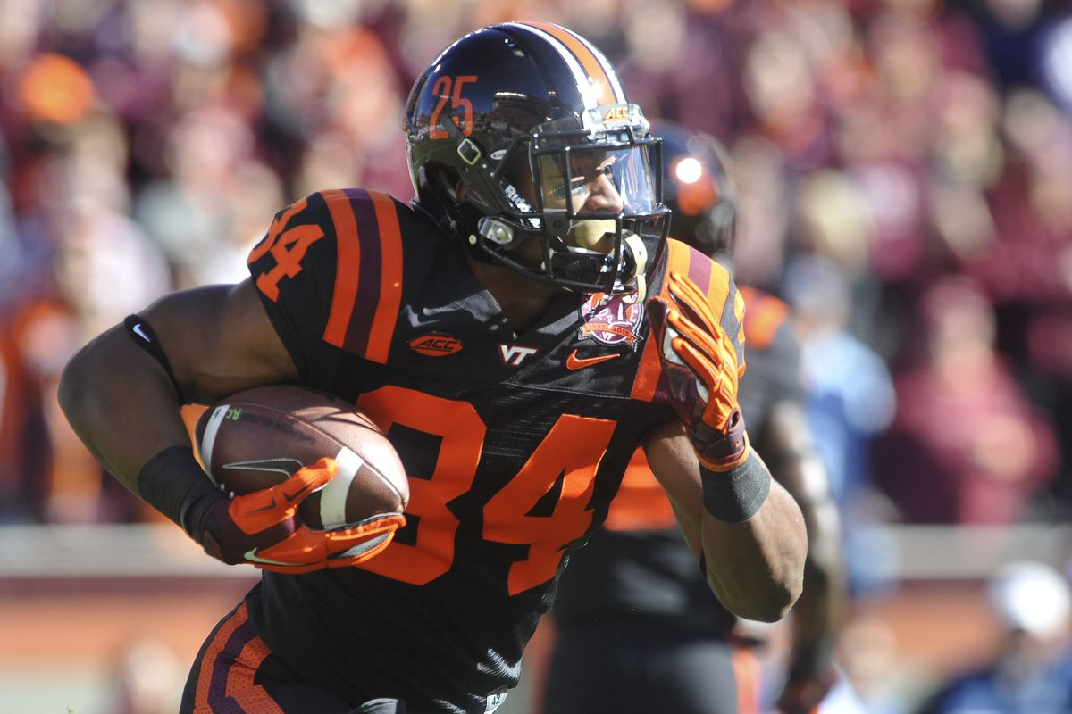 Travon McMillian is the Number 1 back for Virginia Tech's Spring roster.