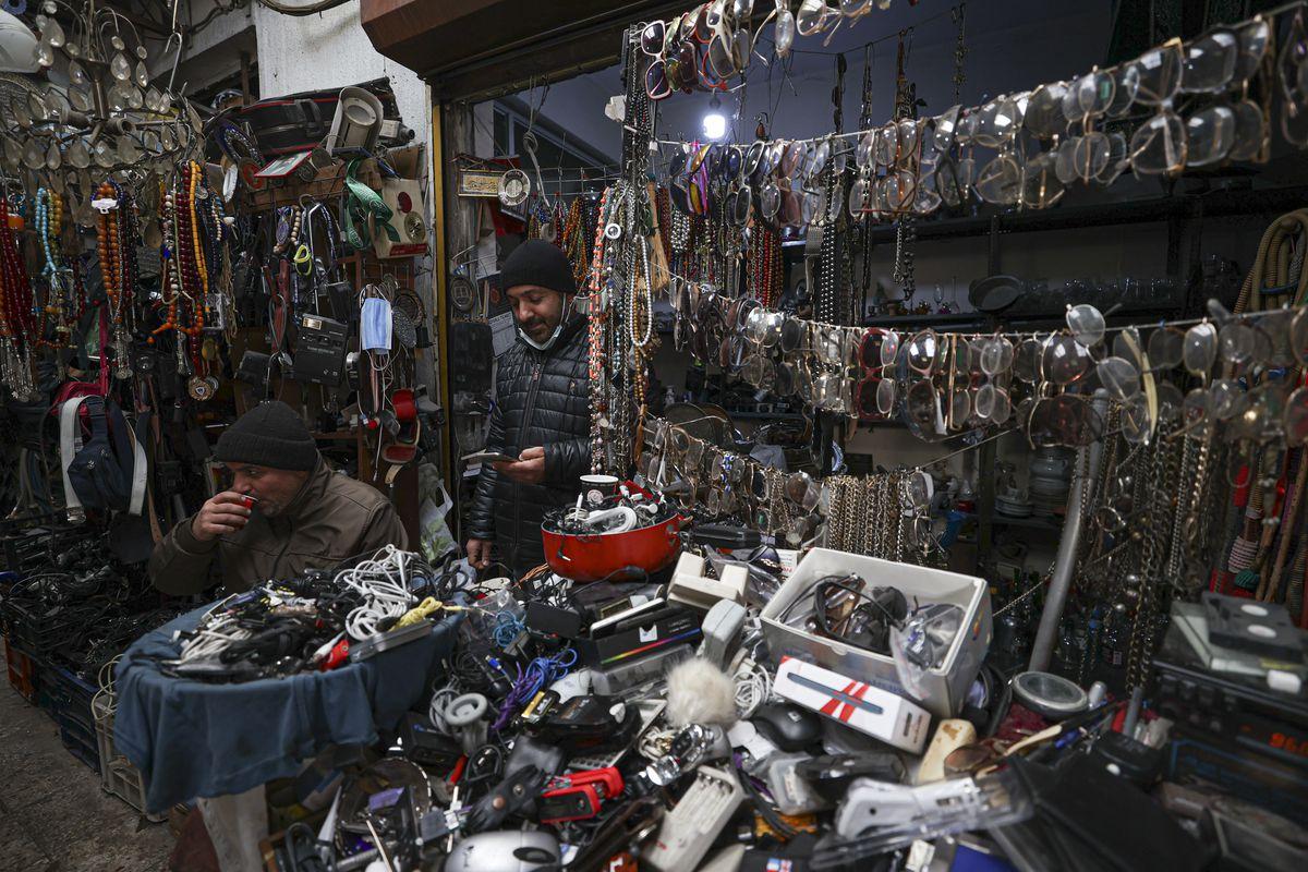 Turkish capital's Flea Market