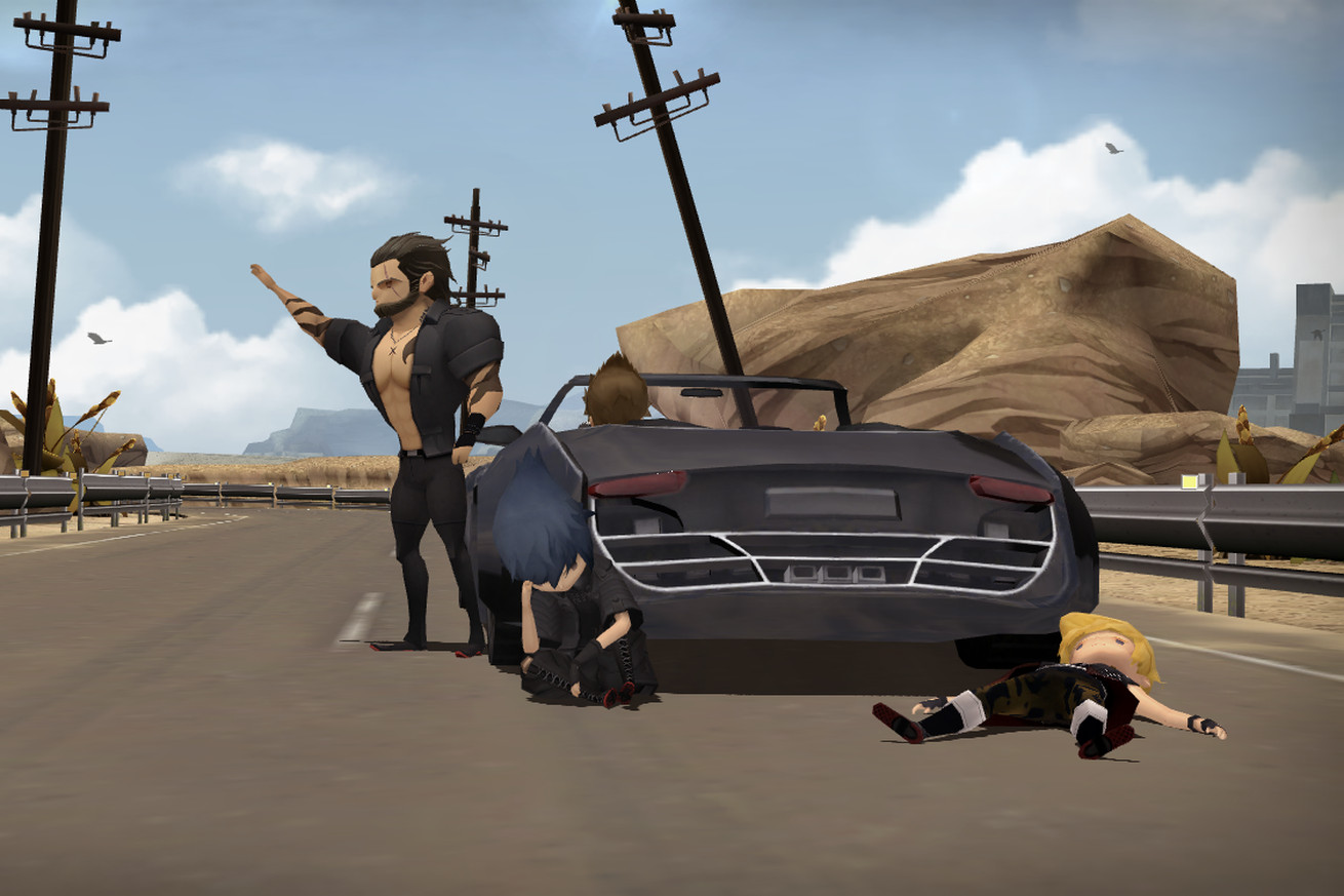 final fantasy xv s mobile version is a perfect introduction to the series
