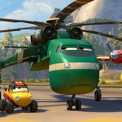 """Blackout, Dynamite, Windlifter and Dipper are part of the firefighting aircraft team in """"Planes: Fire & Rescue."""""""