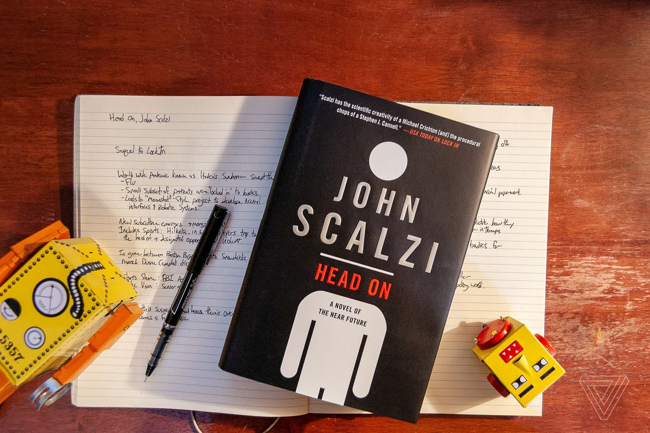 john scalzi s head on is a murder mystery set in a robot fighting league