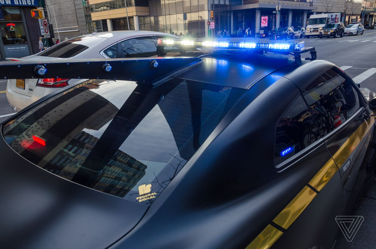 This Nissan Gt R Looks Like The Evil Cop Car From Transformers The