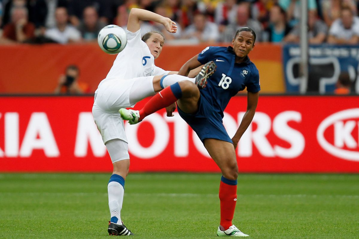 These are the women; the men play today, not the women