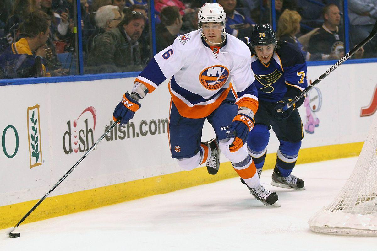 New York Islanders v St. Louis Blues