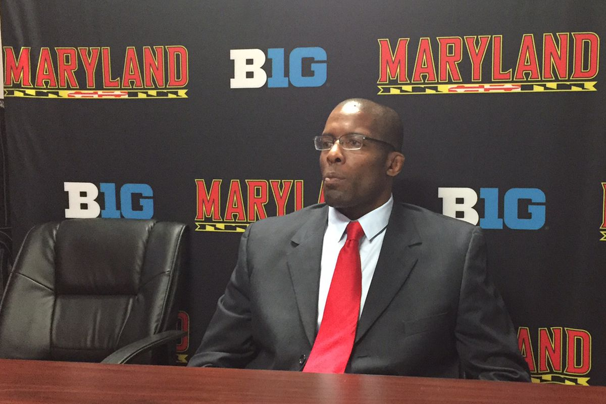 Maryland wrestling head coach Kerry McCoy and the Terps head to the Big Ten Championships this weekend in Iowa City