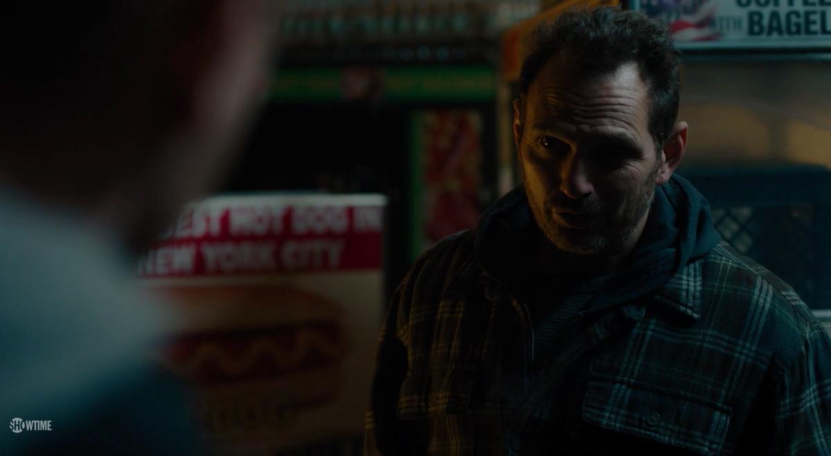 Lev Gorn as a hot dog vendor on 'Billions'