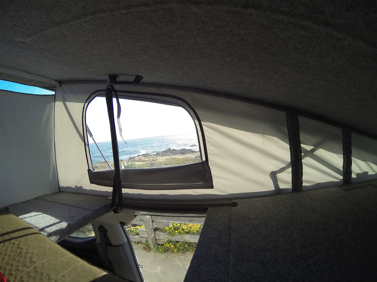 Pop Top Camper Van Fits In Your Garage And Sleeps 4 Curbed
