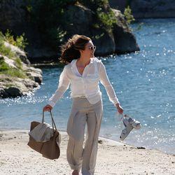 "Diane Lane as Anne Lockwood in ""Paris Can Wait."""