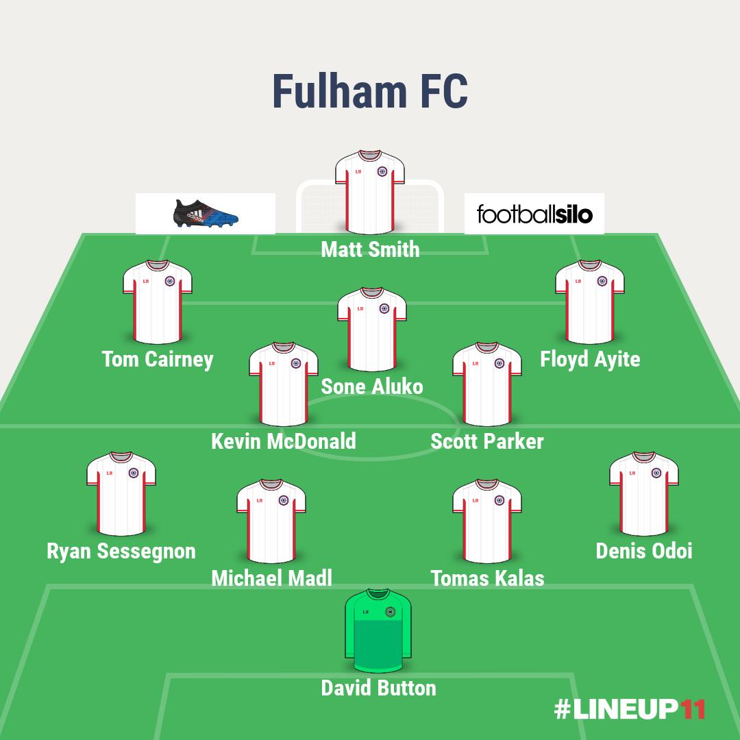 Fulham starting 11