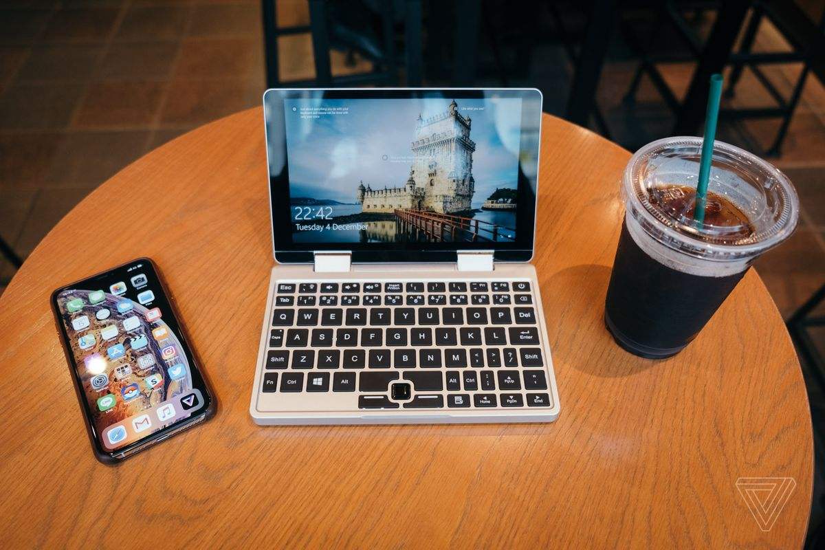 The Falcon is a cute 8-inch laptop that folds into a janky