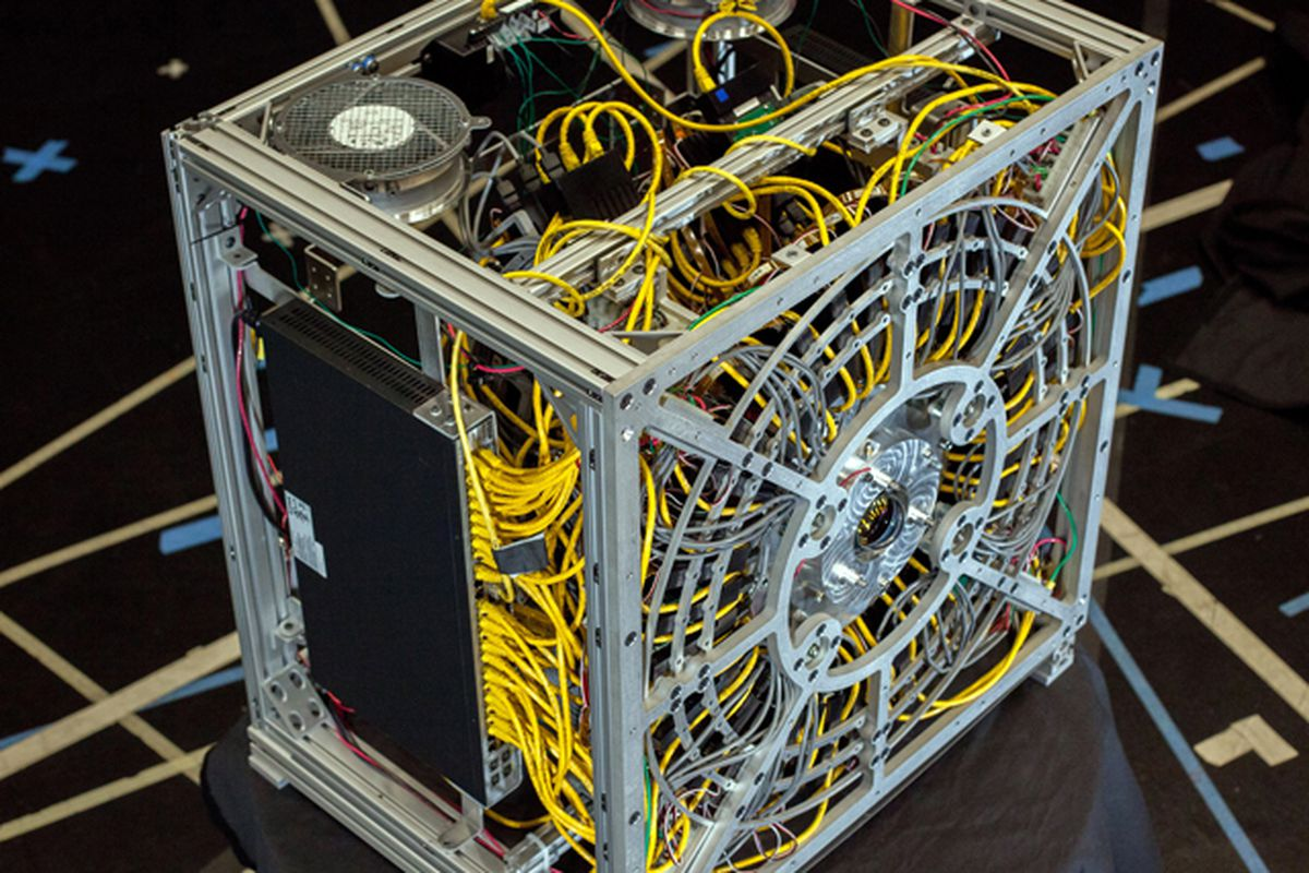 DARPA prototype gigapixel camera