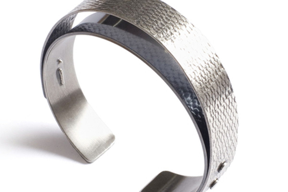 """Dome cuff by <a href=""""http://lilarice.com"""">Lila Rice</a>"""