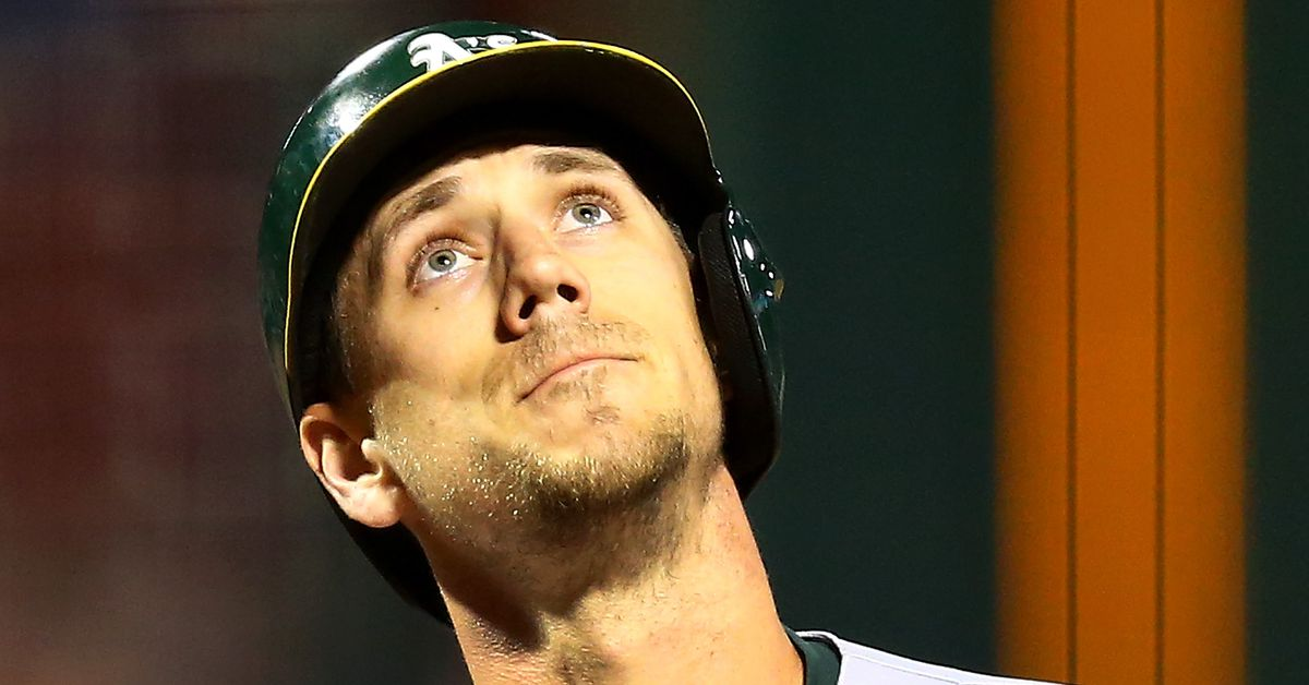 Stephen Piscotty hits a home run in his first game back from bereavement leave