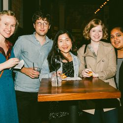 Curbed Editor Amy Schellenbaum, Curbed News Editor Spencer Peterson, Curbed Associate Editor Jenny Xie, Curbed News Editor Rachel B. Doyle, and Eater News Desk Writer Khushbu Shah