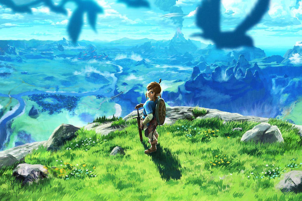The Legend of Zelda: Breath of the Wild art
