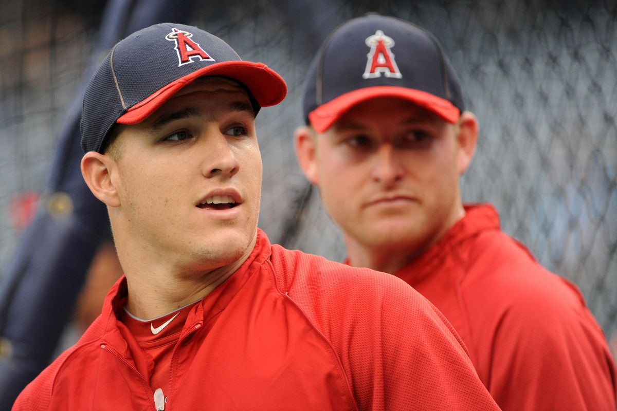 """""""Hey, Mark, check this out! Halos Heaven projected both of our stat lines for 2013 today! Wait...is that their Christmas gift to us?"""""""