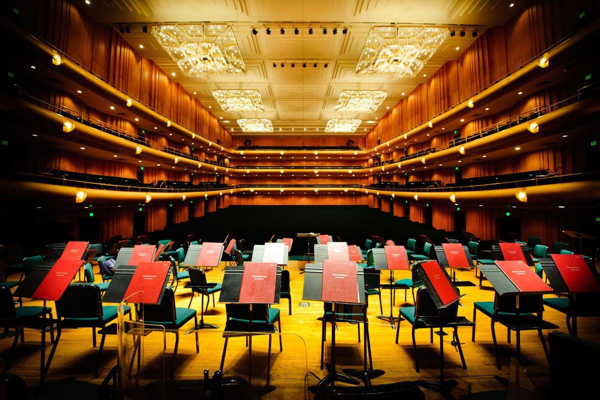 Abravanel Hall is home to the Utah Symphony.