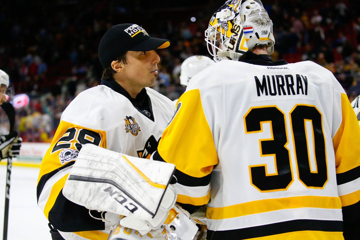 hot sale online d3a98 02b9e Marc-Andre Fleury ends his Penguins career as a cherished ...