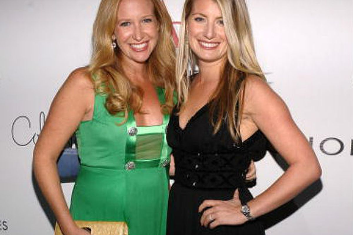 Gilt Groupe co-founders Alexis Maybank and Alexandra Wilkis Wilson, via Getty