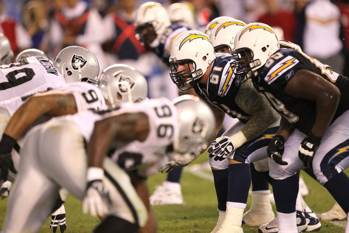 Chargers Vs Raiders Tv Schedule Game Time Announcers