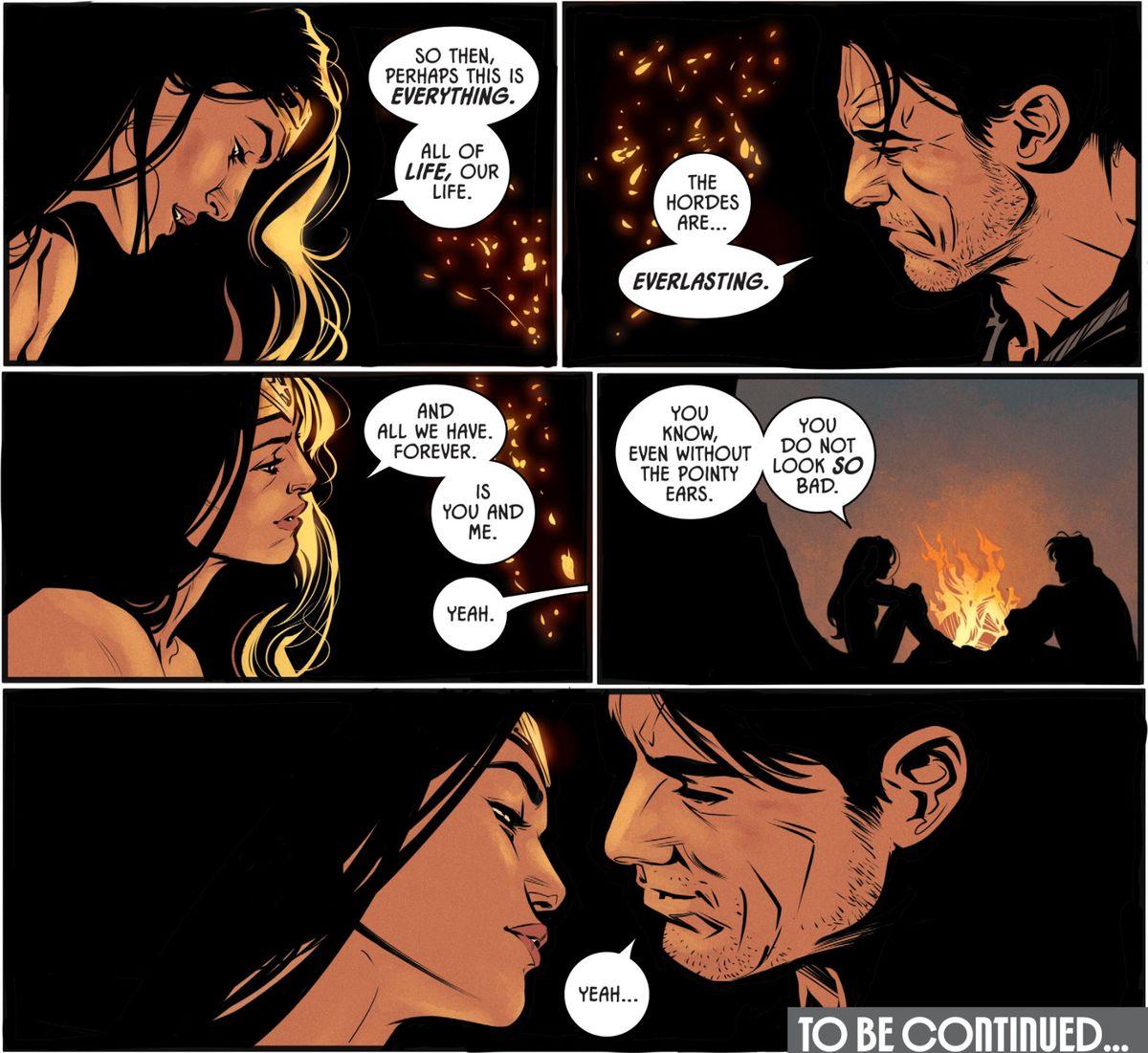 batman and wonder woman dating fanfiction